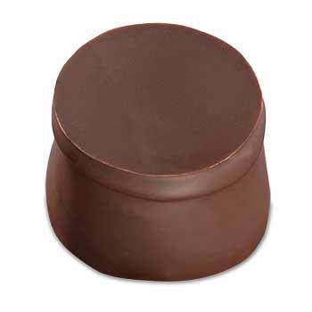 Praliné aux noisettes avec double couche de chocolat fondant