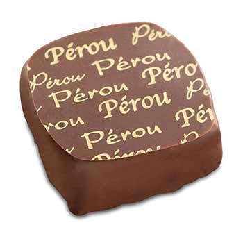 Ganache au chocolat du Pérou