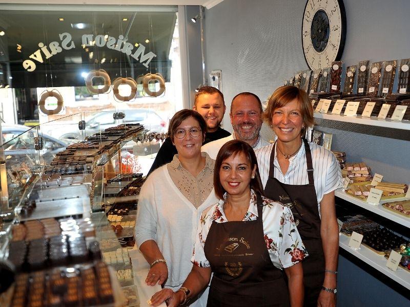 Chocolaterie Saive à Verviers - l'équipe